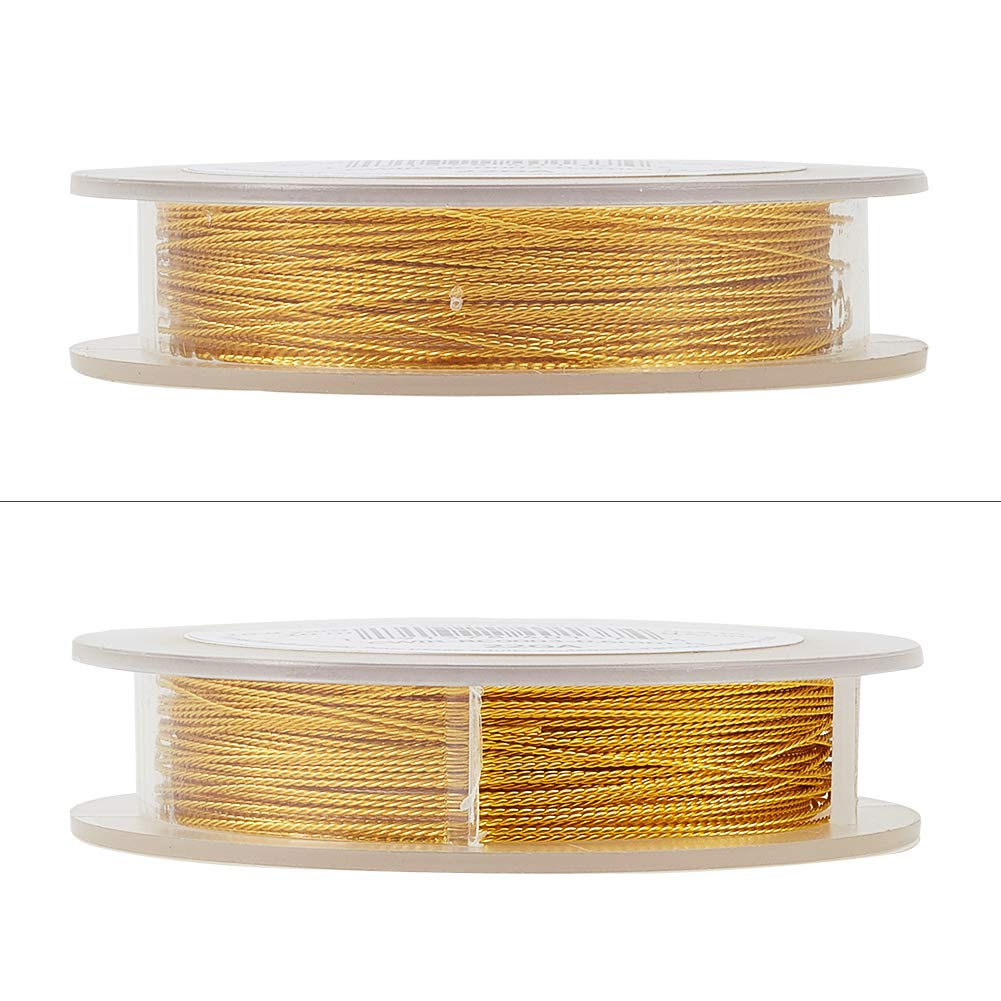 33-Feet//11-Yard in Total BENECREAT 22 Gauge Twist Copper Wire Tarnish Resistant Jewelry Making Wire