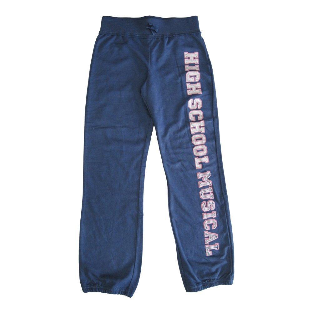 Disney Big Girls Navy Blue High School Musical Letter Print Sweat Pants 8-16