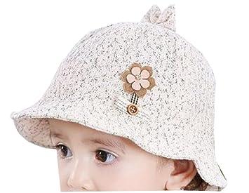 f31997ad1 Amazon.com: Baby Sun Protection Hat Infant Floppy Cap Cotton Sun Hat ...