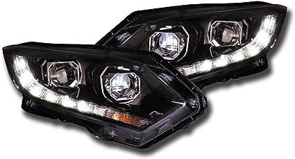 Estilo de coches nighteye para Honda HRV H7 LED Faros proyector ...
