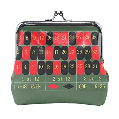 Amazon.com: Roulette – Cartera de mesa de juegos, monedas ...