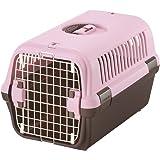 リッチェル キャンピングキャリー Mサイズ 小型犬・猫用 ライトピンク