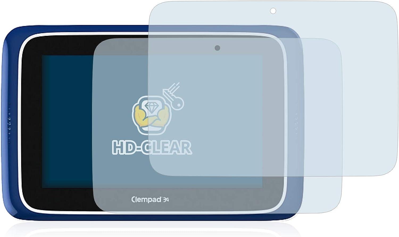 2 Pezzi BROTECT Pellicola Protettiva Compatibile con Clementoni Clempad 8 Plus Ultra Trasparente - Protezione Schermo