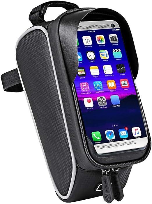 KJJL-B Bolsa de Bicicleta Soporte para teléfono móvil de Bicicleta ...