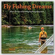 Fly Fishing Dreams 2016 Square 12x12 Wall Calendar