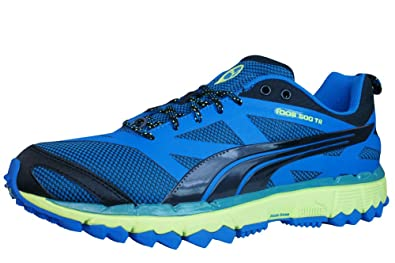 Amazon.com | Puma Faas 500 TR Mens Running Sneakers - Shoes-Blue-8.5 | Trail  Running