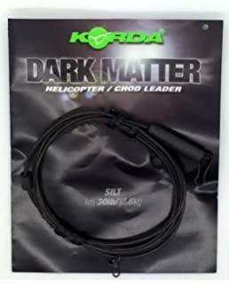 Korda Safe Zone Dark Matter 1m Leader Heli /& Chod Leaders 30lb Test  All Colours