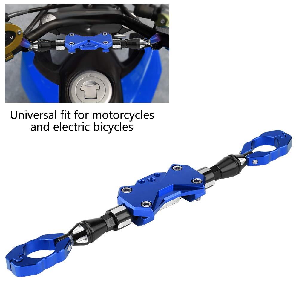 azul KIMISS Barra ajustable de la motocicleta Barra de refuerzo universal Manillar Reforzar Palanca