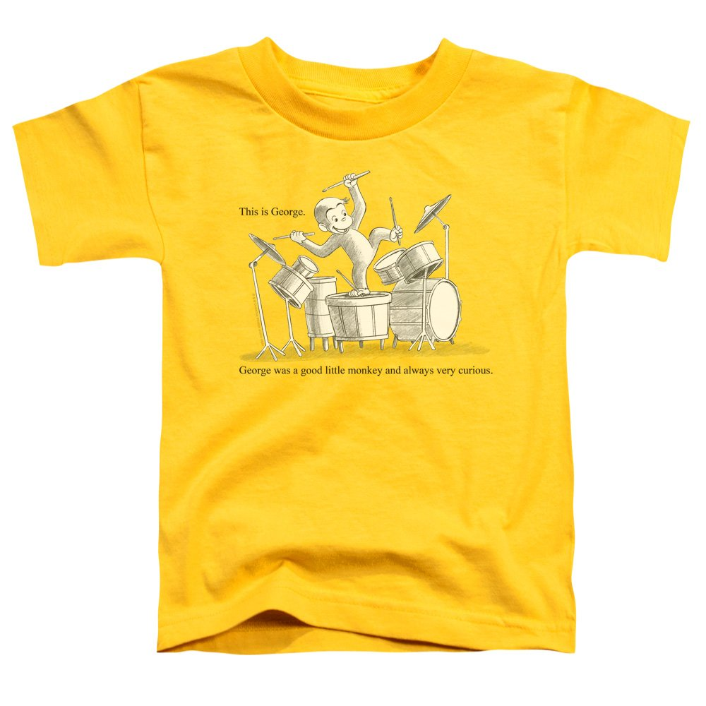Palace Curious George This Is George Banging On Drums Shirts