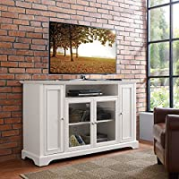 Crosley Campbell 60 TV Stand in White