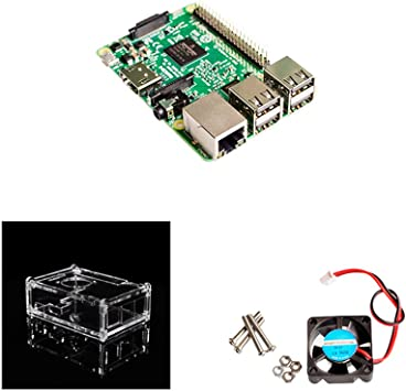 Raspberry Pi 3 Modelo B Kit Pi3 3B con WiFi Integrado y ...