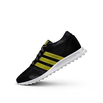 Zapatillas adidas - Los Angeles negro/amarillo/blanco talla: 43-1/3: Amazon.es: Deportes y aire libre