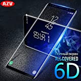 6D Full Curved Screen Protector Samsung Galaxy S8 S9 Note8 Full Curved Edge