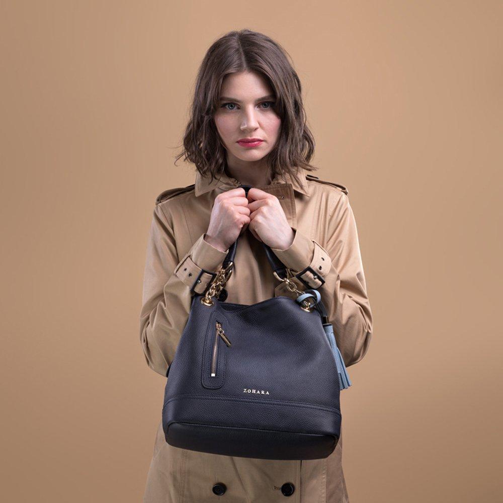 aa0629410531 Zohara Shoulder Bag - Camden x NAVY: Amazon.co.uk: Clothing