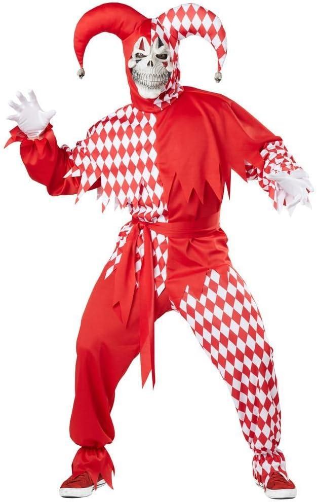 California Costumes Disfraz de Carnaval de bufón para Hombre (XL ...