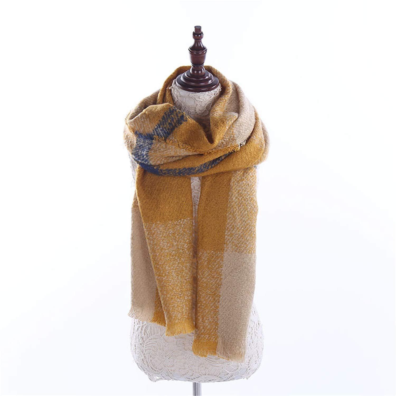 JOEY Foulard pour femme Automne Hiver Épaisses Garder au chaud le châle en  treillis, 1 200   70  Amazon.fr  Vêtements et accessoires 204c625a473