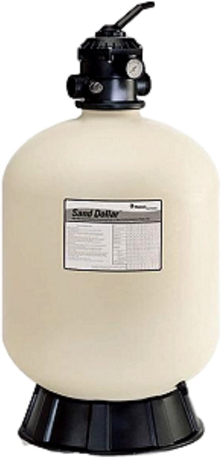 Pentair 145333 Sand Dollar Top-Mount Pool Filter - (Best for 7000 Gallon Above Ground Pool)