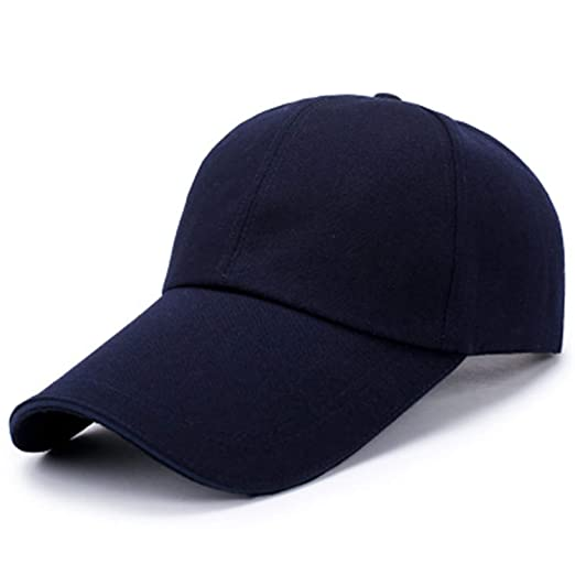 Baseball Cap Snapback Caps Solid Color Fitted Casual Gorras Hip Hop Dad Hats Adjustable Size Perfect for Running Workouts and Outdoor Activities for Man ...