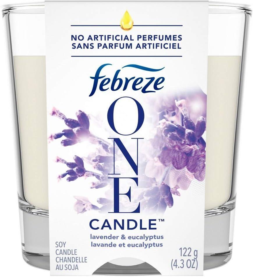 Febreze One Lavender & Eucalyptus Candle - 4.3oz