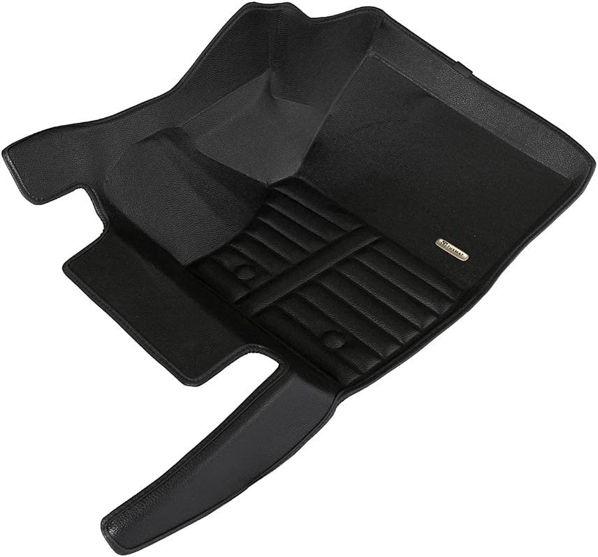 The Ultimate Winter Mats Full Set - Black TuxMat Custom Car Floor Mats for Range Rover 2013-2020 Models/ - Laser Measured Waterproof All Weather Largest Coverage Also Look Great in the Summer./ The Best/ Range Rover Accessory.