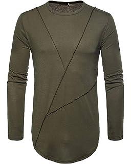 1cfdb6d11c66 Herren Oversize Langarm Shirt Longsleeve Modernas Rundhals Slim Lässig Fit T  Shirt Leicht Basic Sweatshirt Tops