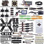 SunFounder SF210 FPV Quadcopter Drone Frame Kit NazeFlight32(Compatible for Naze32 Rev 6) EMAX ESC Simon 12A Motor MT2204 Carbon Fiber Racing 5045 Propellers for Lumenier QAV210