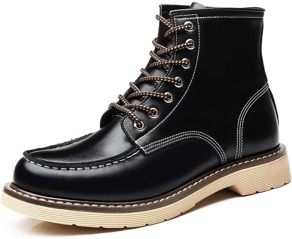 Botas para Hombre Zapatos De Herramientas Botas Altas para Hombres con Botas para Hombres Botas Martin para Hombres