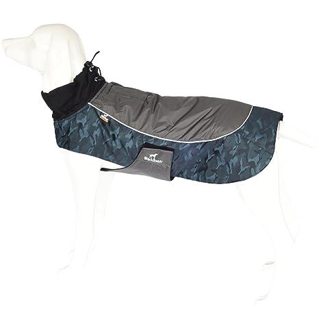 PALMFOX Impermeable Ropa para Mascotas Perro Invierno Caliente Chaleco Chaqueta Jacket Abrigo para Perros Grandes Ropa