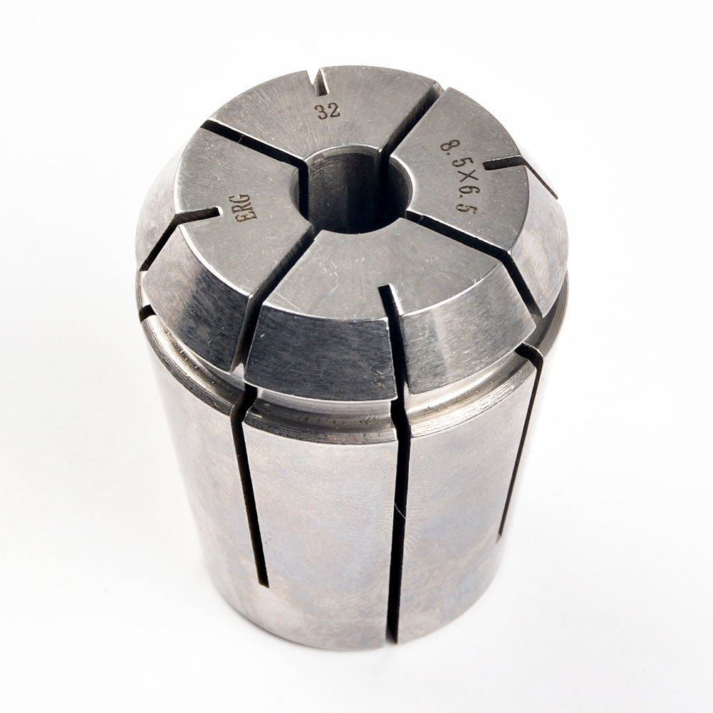 ERG32 8.5×6.5 Advanced Formula Spring Steel Collet Sleeve Tap,For Lathe CNC Engraving Machine & Lathe Milling Chuck