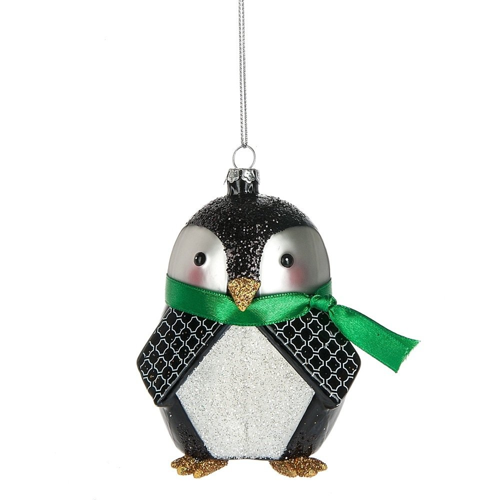 Midwest CBK Animal Menagerie Ornament - Penguin (Bird) 123138
