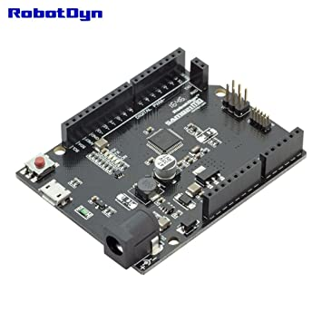 RobotDyn - SAMD21 M0  32-bit ARM Cortex M0 core  Compatible with Arduino  M0  Form R3