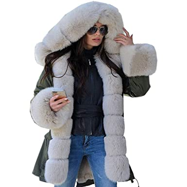 Cebbay Abrigo de algodón Ropa Mujer Invierno Sudadera con Capucha Chaqueta Suelta de Manga Larga calienteTrajes para la Nieve Liquidación: Amazon.es: Ropa y ...