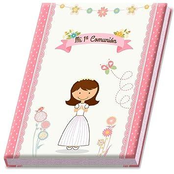 DISOK Álbumes de Comunion Niña con Estuche. Album Comuniones ...