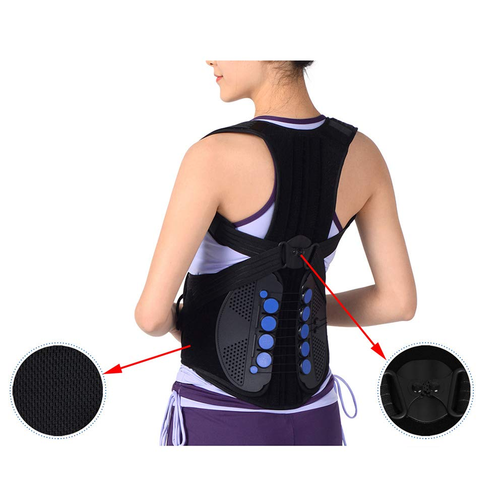 ASZX Back Posture Corrector,Spinal Brace Support,Full Back Support Belts for Upper and Lower Back Pain Relief,XL by ASZX