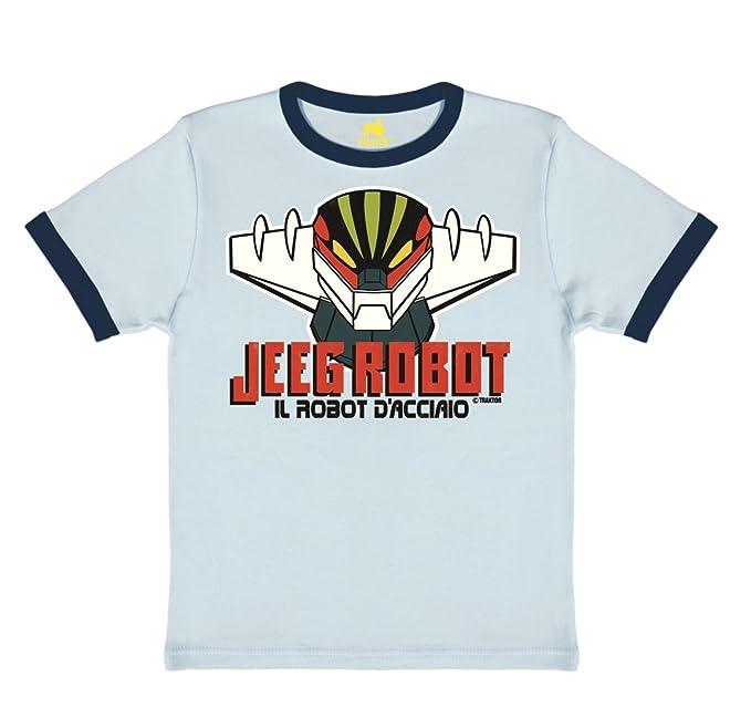 10 opinioni per TRAKTOR T-shirt per bambini Jeeg Robot- maglia per bambini Mazinga- maglietta