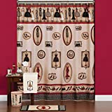 Fashion Passion - Shower Curtain with Bath Accessories Collection
