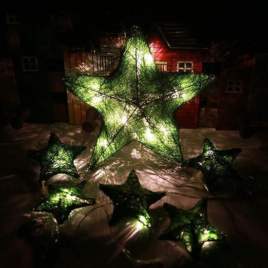 JUNMAONO Christmas Decoración, Iluminación de Navidad, Guirnalda Luces Navidad, Luces Arbol Aavidad, Navidad Decoraciones, Adornos Navideños (2): Amazon.es: ...