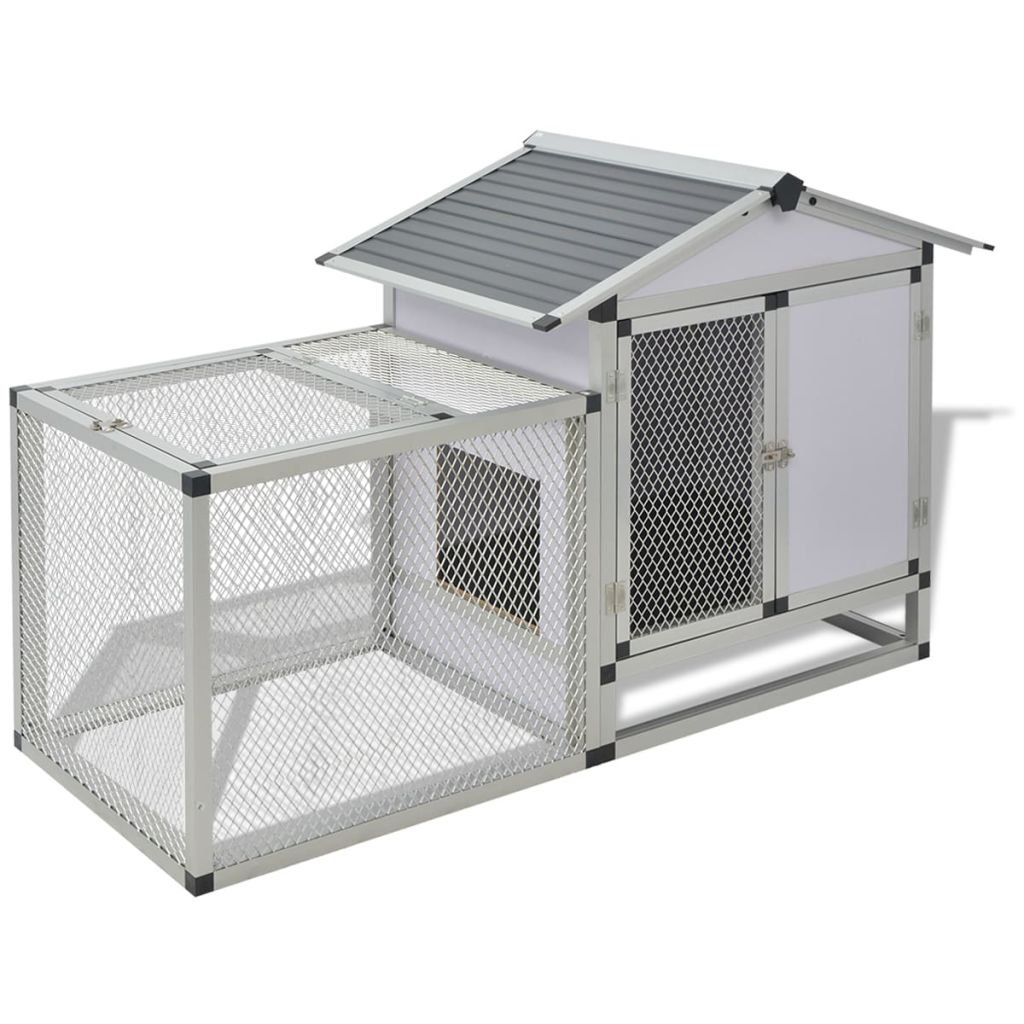 Amazon.com: BLXCOMUS Aluminum Frame + Iron Wire Mesh + MDF Chicken ...