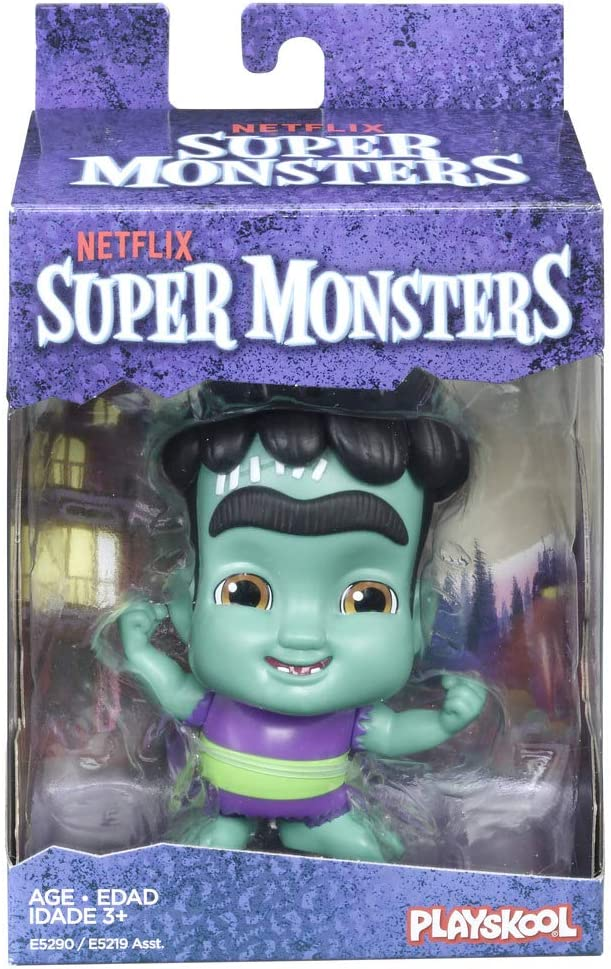 Amazon Com Netflix Super Monsters Frankie Mash Collectible 4 Inch Figure Ages 3 And Up Toys Games