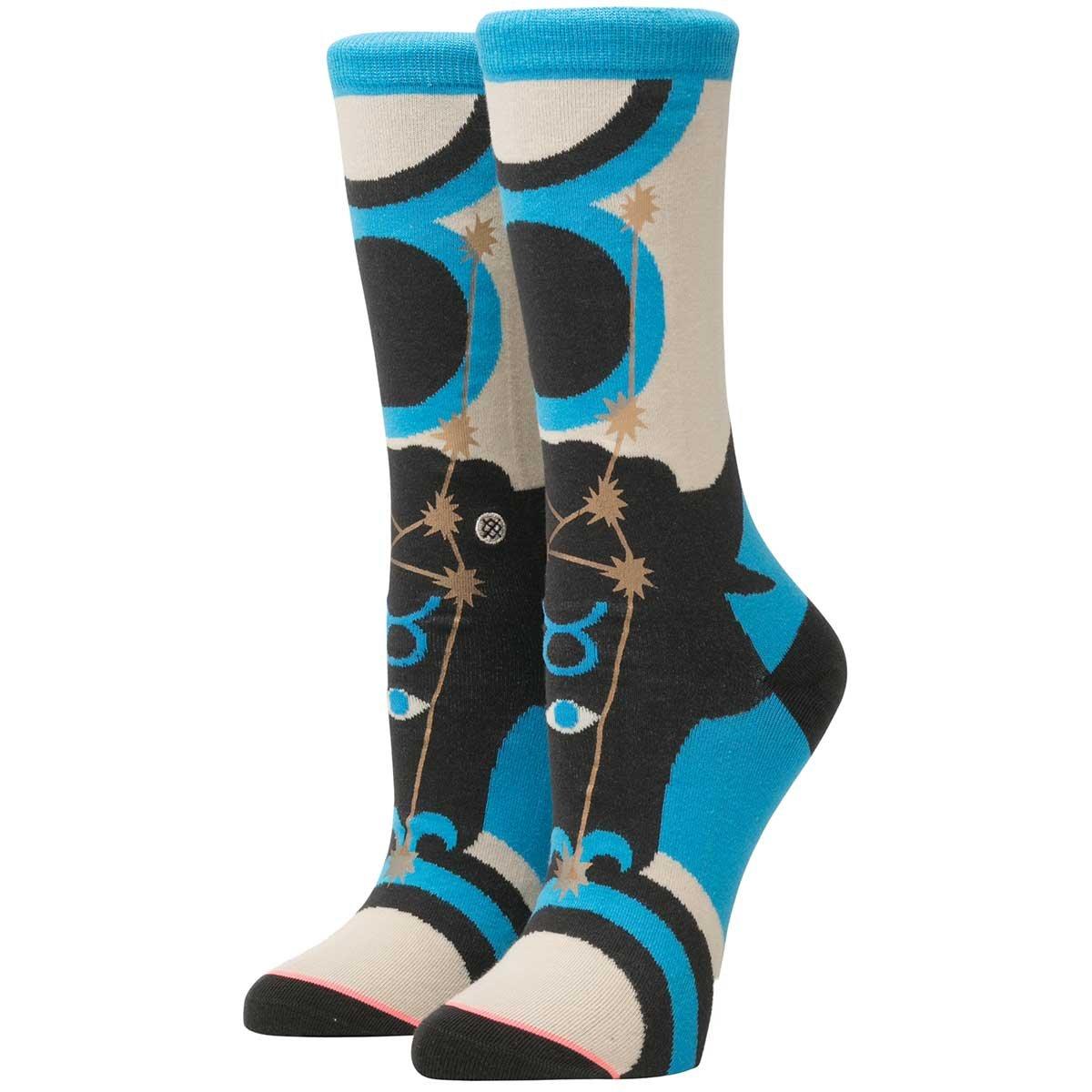 Stance Women's Zodiac Crew Sock, Taurus, Small