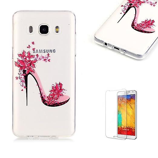 12 opinioni per Cover Per Samsung Galaxy J7 2016 Silicone Custodia Morbida Trasparente con