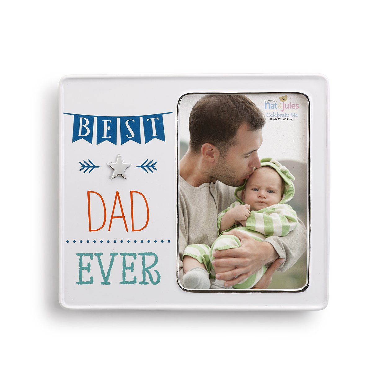 Demdaco Baby Frame, Best Dad Ever 5004700436