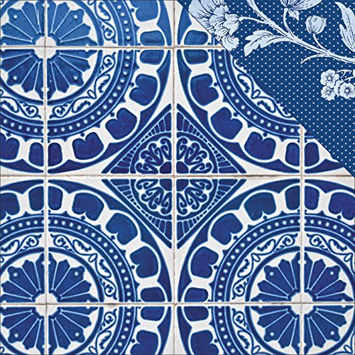 Paper House Productions P-3008E Spanish Tiles Paper, 12 by 12-Inch, (15 Pack)