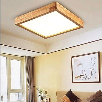 FJ-24W LED kreative Persönlichkeit von massivem Holz Decke ...