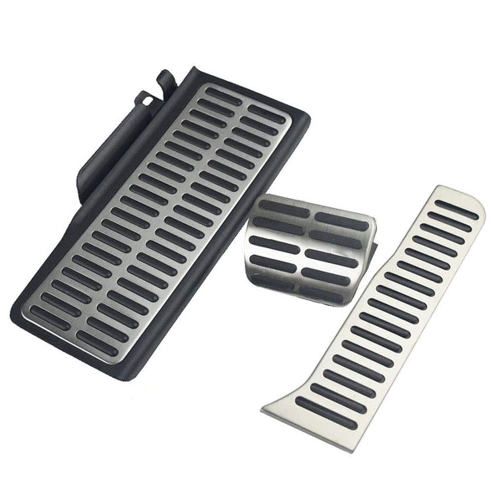 Brake Pedal Accelerator Pedal Skidproof Cars 3pcs Rest Pedal Auto Parts for CC Duoying