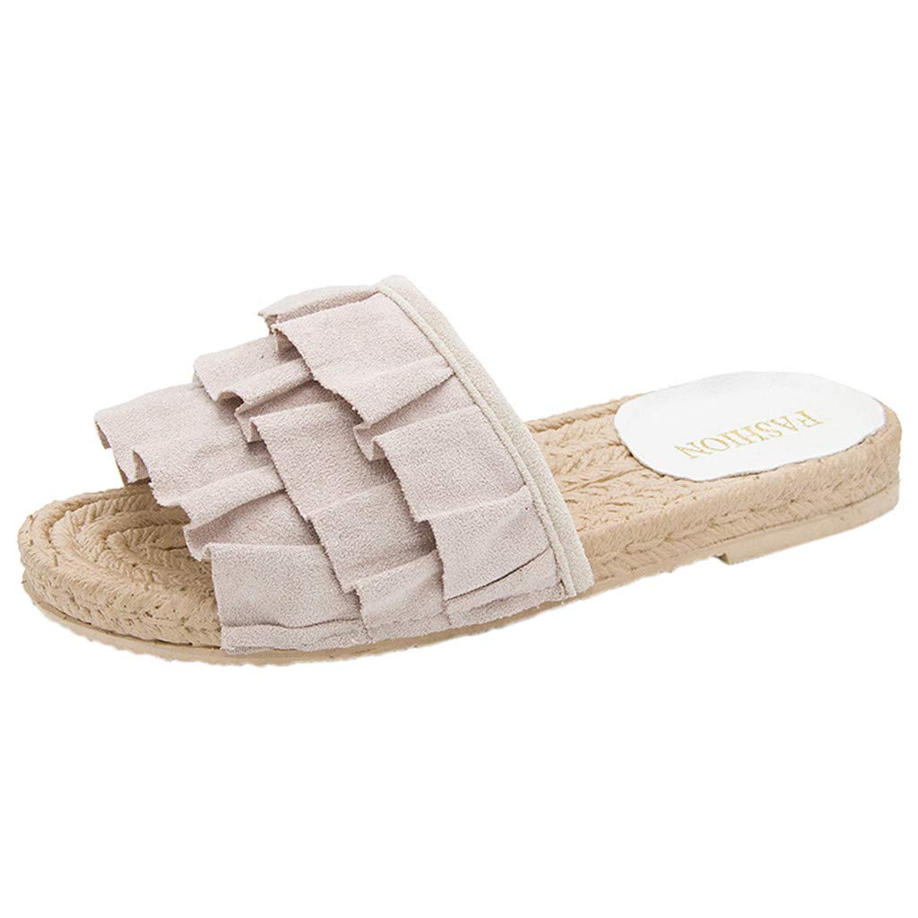 3a71ac97693b8 DENER❤ Women Ladies Summers Sexy Slippers, Designer Fringed ...