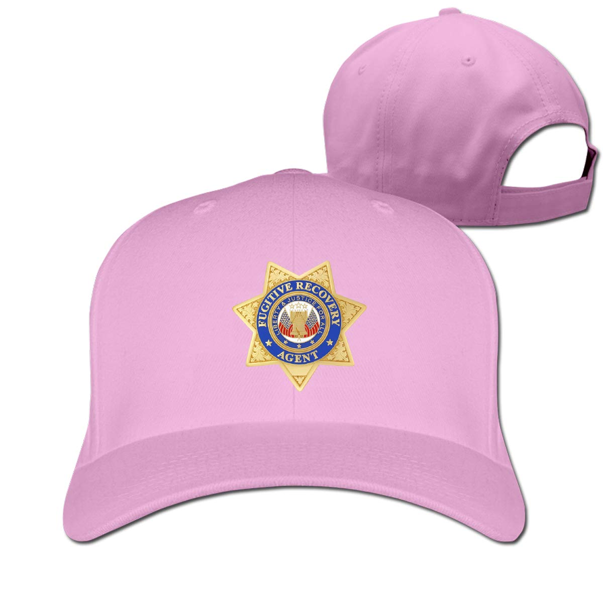 Fugitive Recovery Agent 100/% Cotton Baseball Caps Adjustable Dad Trucker Sun Hat Outdoor Custom Cap for Men Women