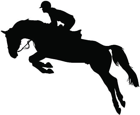 Horse Jumping Vinyl Decal