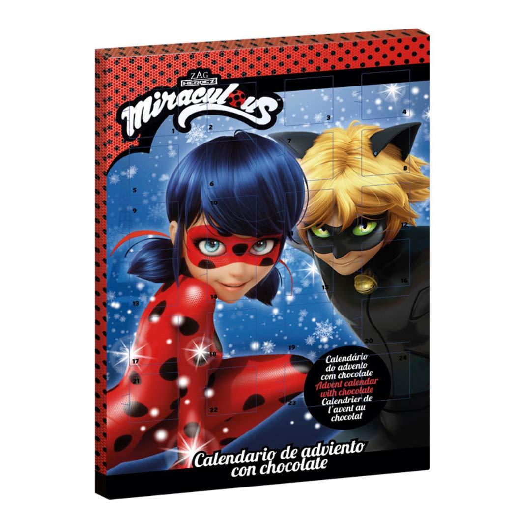 Miraculous Le storie di Ladybug e Chat Noir Natale Calendario dellAvvento Cioccolata al Latte 2019