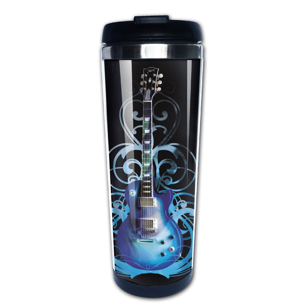 Blue Guitar Stainless Travel Coffee Mug Hasdon-Hill